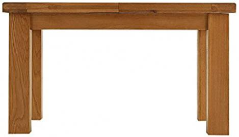 Oakhampton Chunky Oak 1.1m Butterfly Extending Table