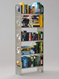 BOLTZ - BC5T - Steel Bookshelves - up to 150 lbs per shelf - Infinitely Expandable - Anthracite finish