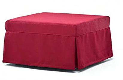 "Pouf letto ""Stefan"" with coated removable"