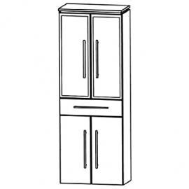 Perfect Cool Line (HNA056B5M) Bathroom Furniture Tall 60cm