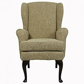 "Montana Orthopedic High Seat Chair - Nutmeg Co-ordinated chenille fabric. 21"" Seat Height, 18"" Seat Width"