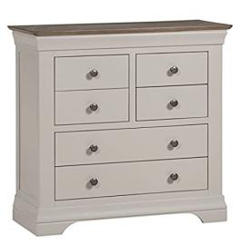 Emsworth Grey Painted 4 over 2 Chest