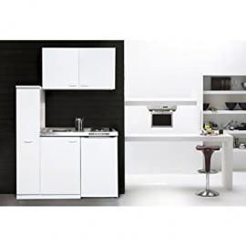 Respekta MK 130 WOS Mini Kitchen Unit Including Double Hot Plate and Wall Units