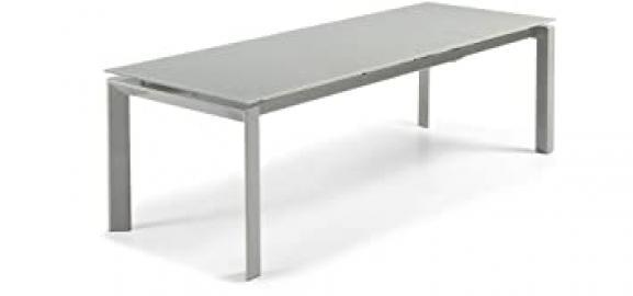 The Form-ALKI Table 160 (230) x90 'Est Grey Glass feet Epo. g.