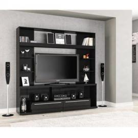 Birlea Aura Entertainment Unit - Wood, Black