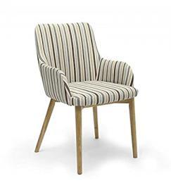 Shankar NEW Sidcup Duck Egg Blue Stripe Chair