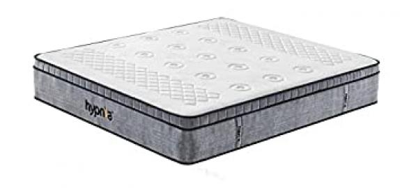 Hypnia Premium Memory Foam Pocket Sprung Mattress, Double 4ft6 x 6ft3, 12 inch