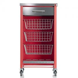 Don Hierro Chelsea Red Kitchen Trolley