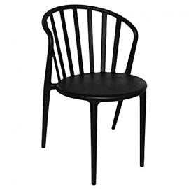 Bolero PP Armchair Black (Pack of 4) Seat Height 465mm