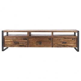 indhouse Michigan TV Stand Wood/Metal