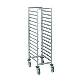 Tournus GN 1/1 Racking Trolley 15 Levels Dimensions 1650(H) x 454(W) x 638(D) Weight 17kg