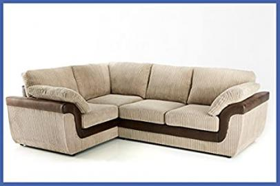 Eliza Corner Sofa - Mink Left Hand Side Orientation