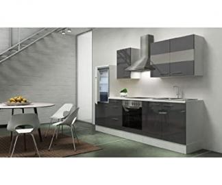 respekta appliances 270 CM White Front High-Gloss Grey