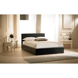 Madrid Ottoman Bed Frame Size: King (5'), Colour: Black