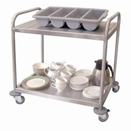 Craven CF683 Serving Trolley, 2 Tier