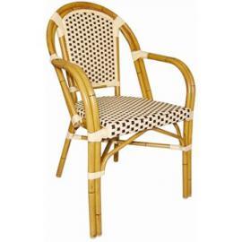 Winware Continental Bistro Wicker Armchair