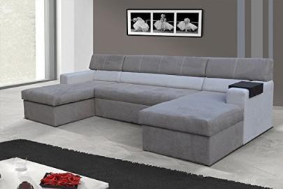 Interior design Markos Corner Couch Corner Sofa Sofa Couch with Bed function 01551