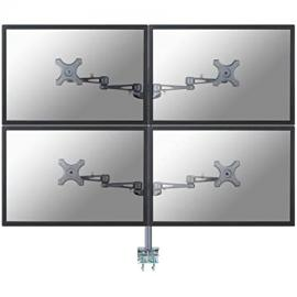 "Newstar FPMA-D935D4flat panel desk mount–stand for TV (24kg, 25.4cm (10""), 68.58cm (27), 0–800mm, 300°, 0–180°)"