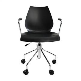 Maui Office Chair With Armrests anthracite/with pneumatic spring