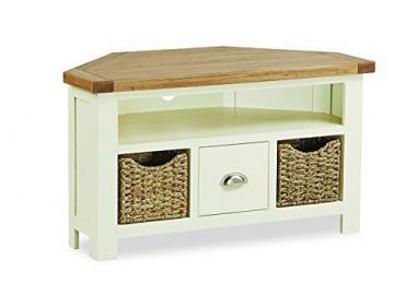 French Country Cream Corner TV Unit