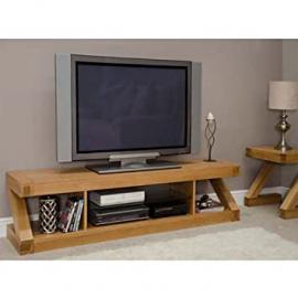 Z Oak Designer Large Plasma TV Unit
