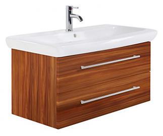 Bathroom Cabinet Keramag IT! 100 cm Walnut Semi-Gloss