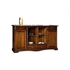 Cabinet with Doors in Solid Wood, As in Photo