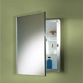 Jensen Medicine Cabinet Styleline Steel 16W x 26H in. Medicine Cabinet by Lighthouse Distribution Corp