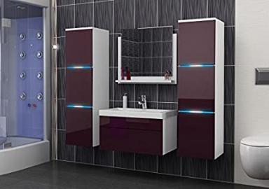 Luna Bathroom Furniture Set with Bathroom Basin and LED A03
