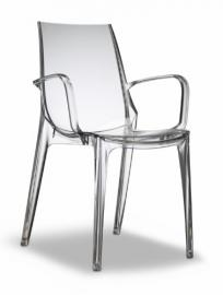 Scab Armchair Vanity White