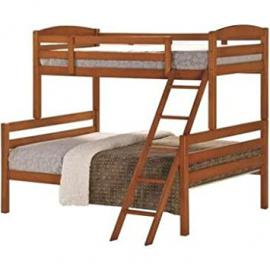Ideal Furniture Cosmos Triple Sleeper Bed, Wood, Cherry, Double