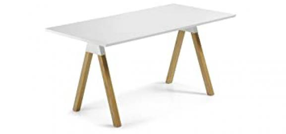 The Shape STICK-L05 Table, Painted White