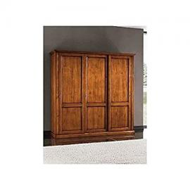 Sliding Wardrobe with 3 Doors in Arte Povera Style, As Shown in the Photo