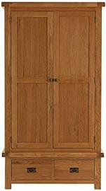 Hagley Bedroom 2 Door 2 Drawer Wardrobe Wooden