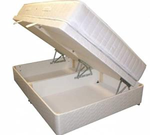 3ft Single Ottoman Bed with Pocket Mattress