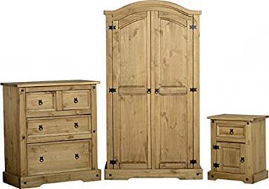 Mews Corona Trio Bedroom Furniture Set