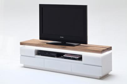Romina typ 92 - Modern TV STAND with shelves