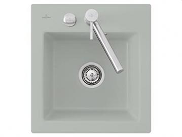 Villeroy Boch Subway &XS Fossil Light Grey Ceramic Kitchen Sink Spule