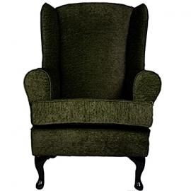 Cavendish Furniture Cavendish Orthopaedic High Seat Chair, Fabric, Moss Green, 19-Inch