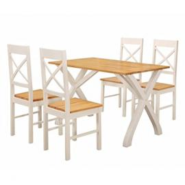Normandy Dining Set (Chairs & 4 Chairs)
