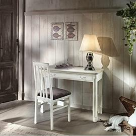 Writing Desk Console Table Solid Wood Antique Country Veneto–As Photos