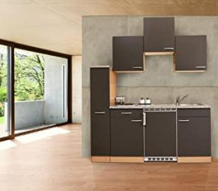 Respekta Ceran KB180BGC Kitchen Furniture 180 cm Grey Beech Wood