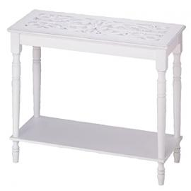 Carved-Top Table