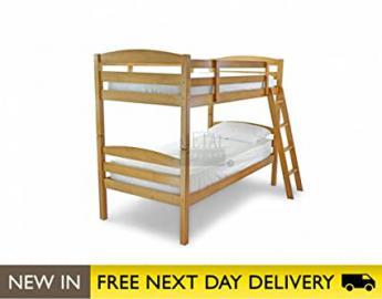 Metal Beds Ltd 3ft Bunk Bed Maple Wooden - Moderna bunk