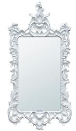 White Bevelled Mirror