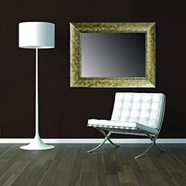 Wall classic wood mirrors: collection CALDER. Colour: Bronze.