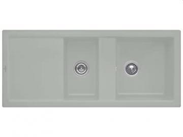 Villeroy & Boch Subway 80 Fossil Grey Ceramic Sink Kitchen Sink Fitting