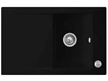 Villeroy & Boch Timeline 45Flat CHROMIT BLACK SINK Ceramic Sink