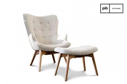 Colombine retro armchair