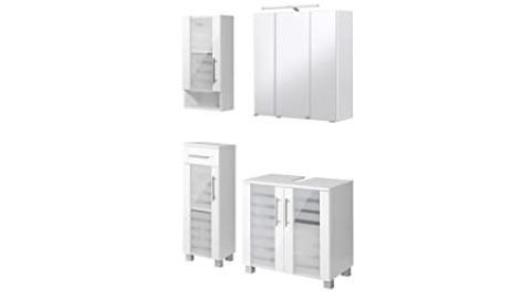 """Held Möbel Jaca Bathroom Furniture Set """" white"""
